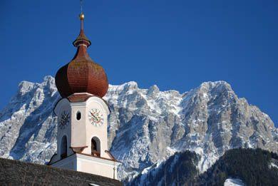 Ehrwald Church Kirche