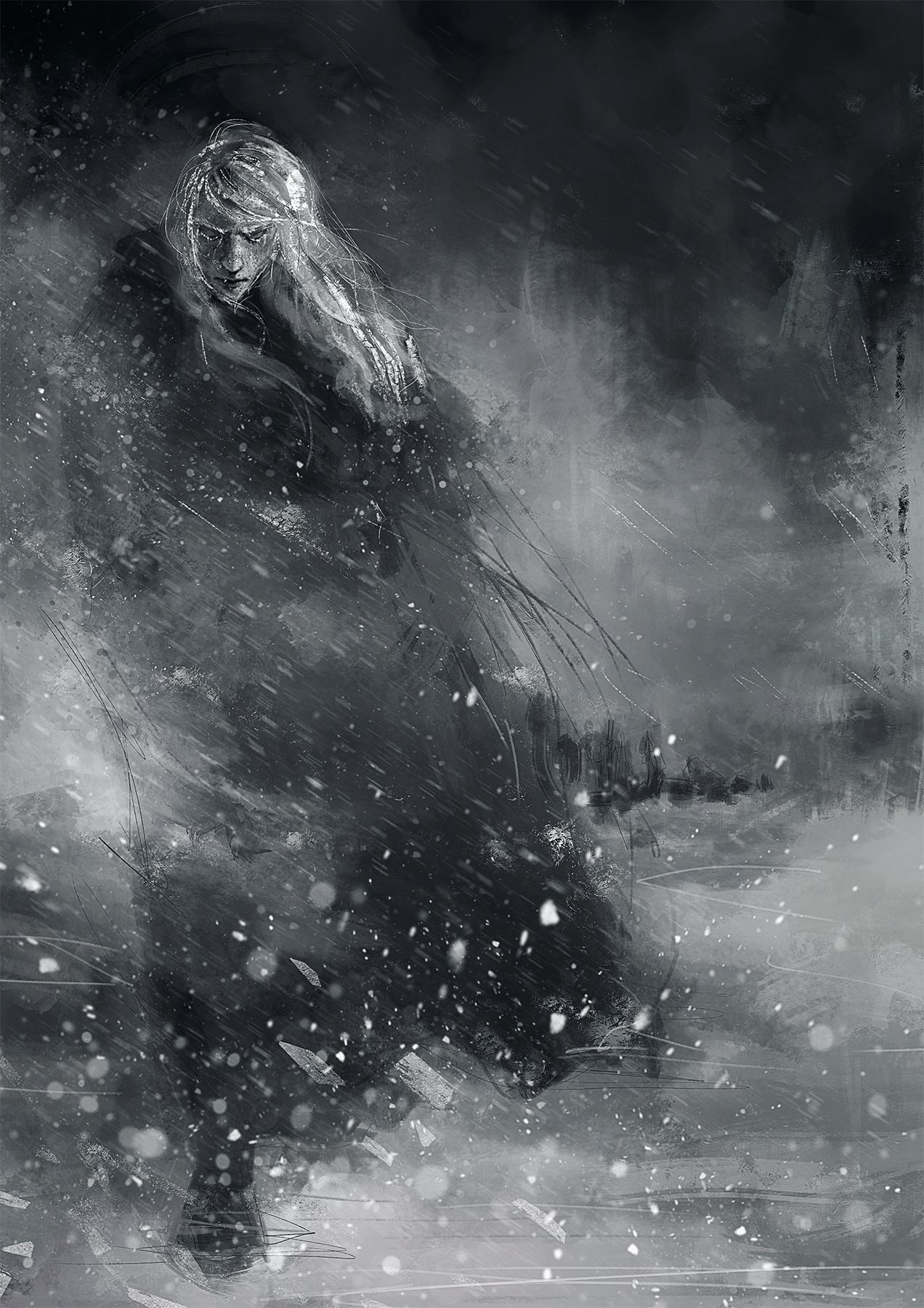 Finrod crossing the Helcaraxë Fighting a mild form...