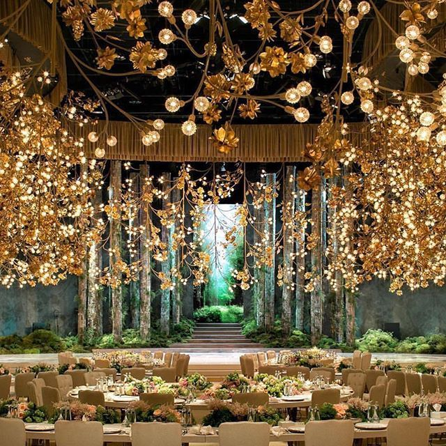 Real Weddings Decorations: Now That's A Real Magical Wedding Decor We Would Like To