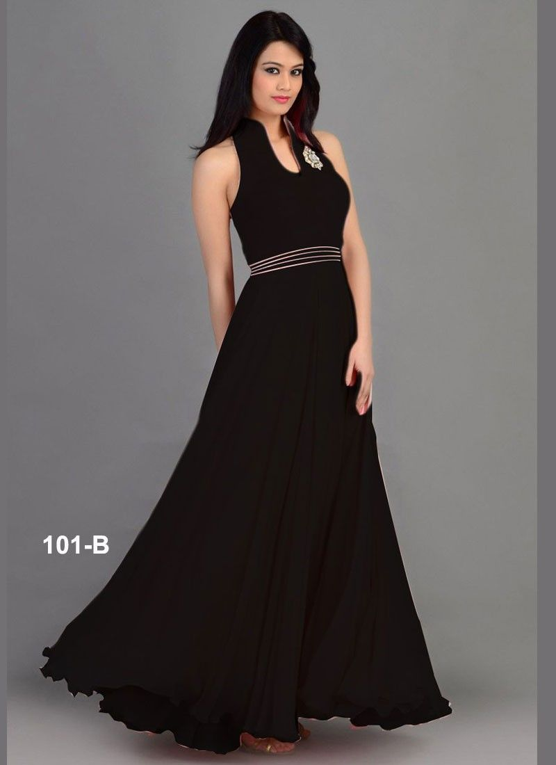 Buy VandV New Western And New Styles Black Gown GWN103-101-B at ...