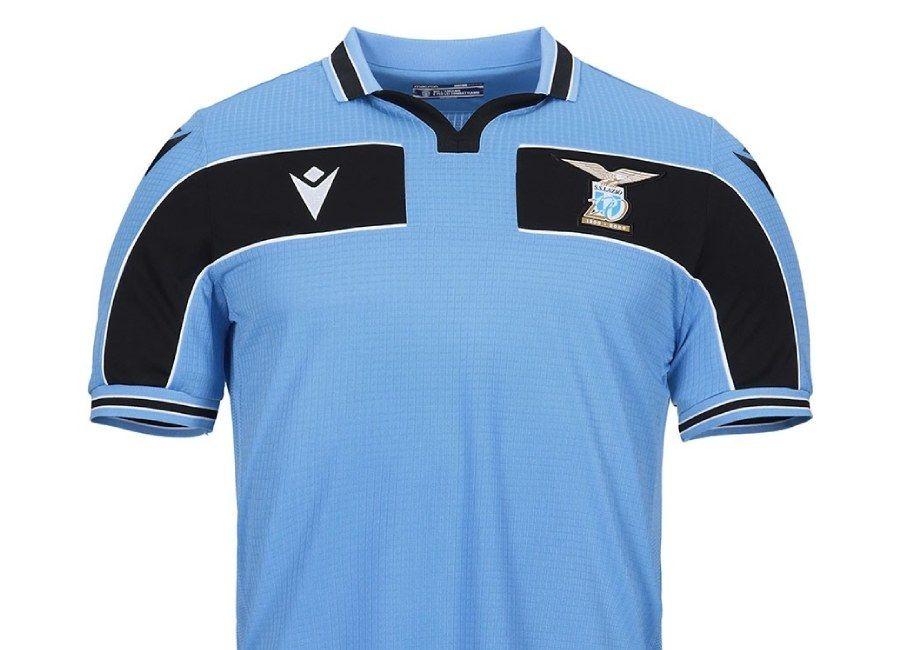 Lazio 2020 Macron 120 Years Home Kit Sslazio Cmoneagles Cmoneagles In 2020 Mens Tops Christian Vieri Mens Polo Shirts