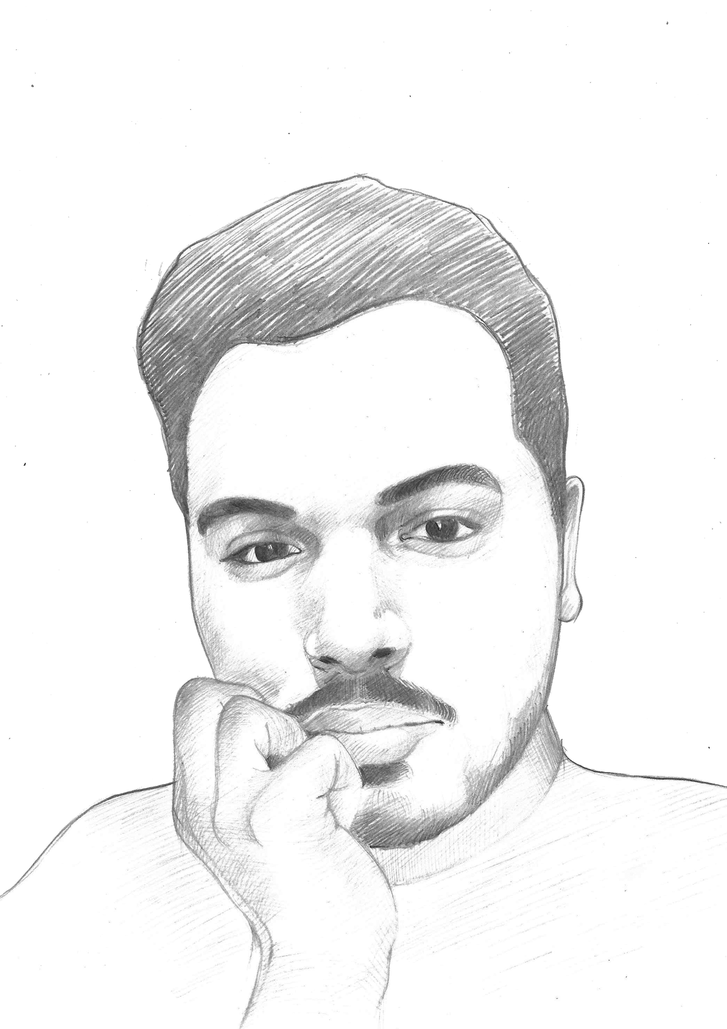 Dazzlingdezigns I Will Draw Pencil Sketch Portraits And Illustrations For 10 On Fiverr Com In 2020 Pencil Sketch Portrait Beautiful Pencil Sketches Pencil Sketch