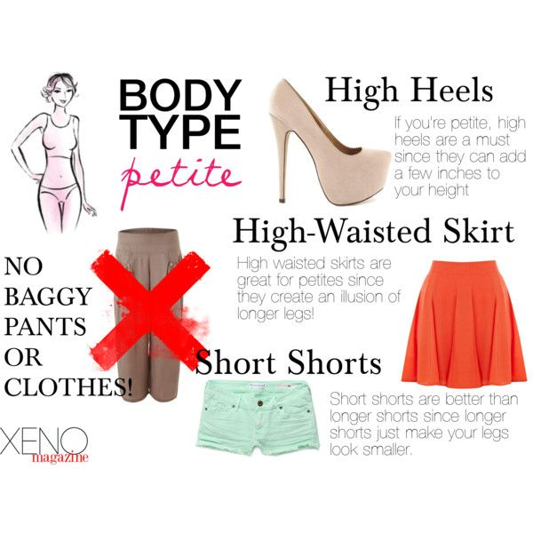 """""""Dressing For Your Body Type: Petite"""" by delightoftheyoung ..."""