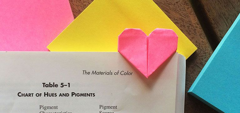 Origami Inspiration How Jenny W Chan Uses Post It Notes To Make