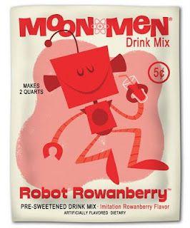 Bob Canada. Moonmen Drink Mix. http://bobcanada92.blogspot.com