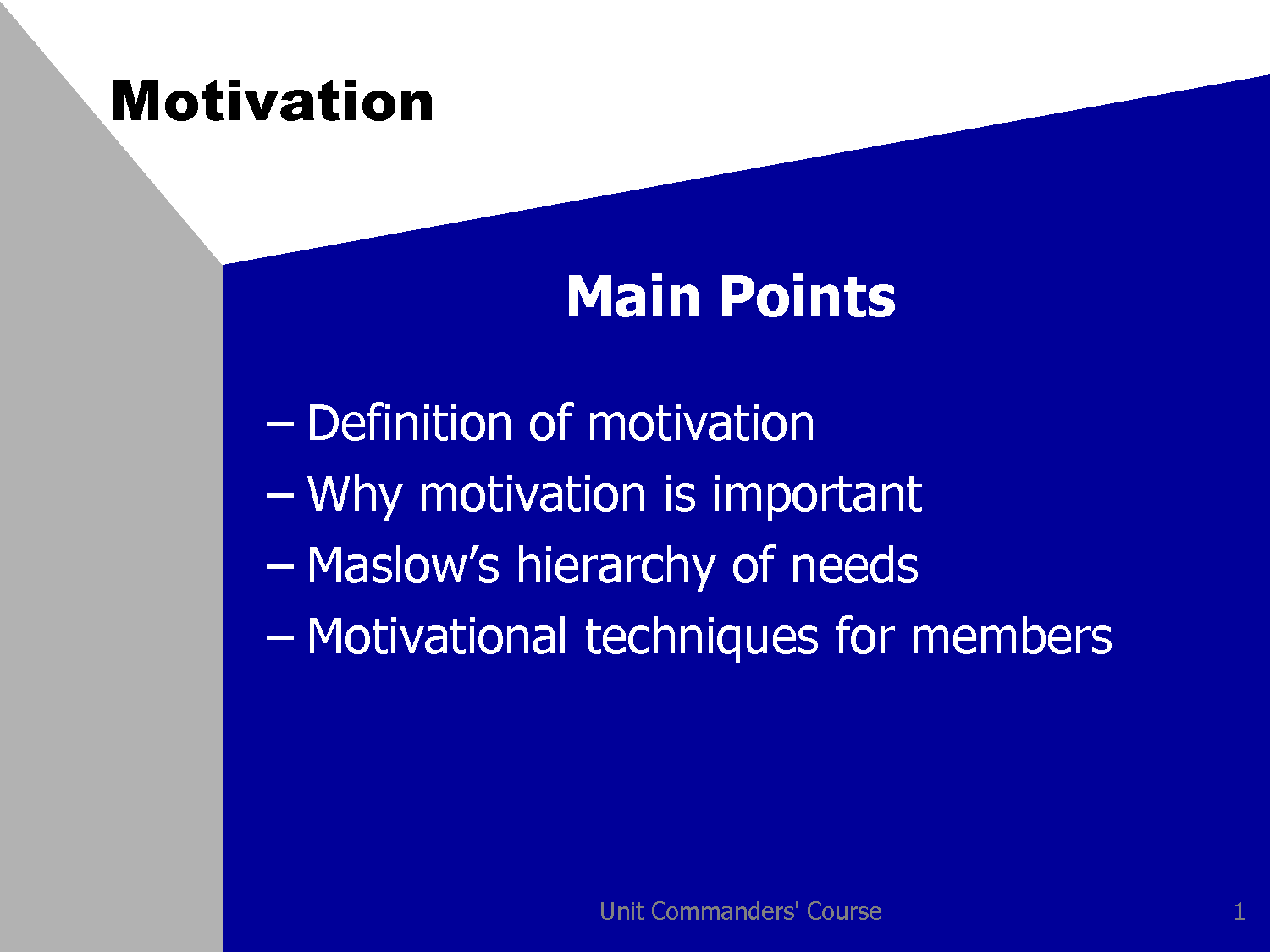 "motivational strategies affect productivity in the workplace The strategies for success motivation and workplace performance: research & best practices,"" conducted by researchers for the international society of."