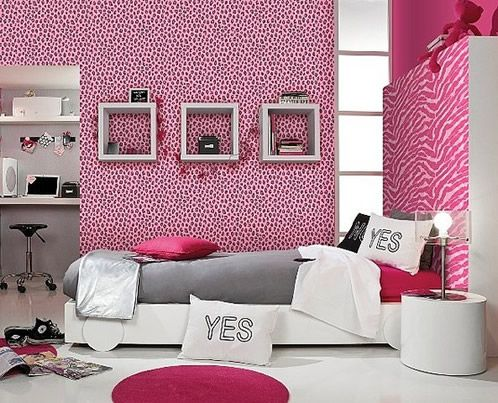 hot pink black and animal print bedding - Google Search | ideas for ...