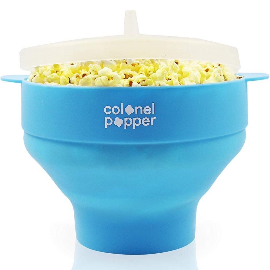 colonel popper microwave popcorn maker review | Microwave ...