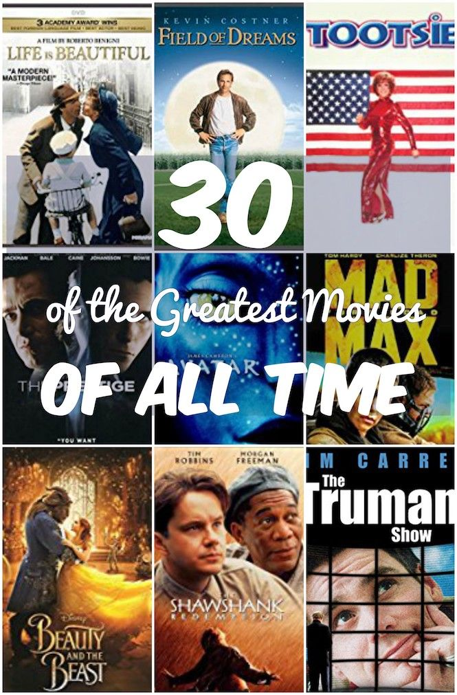 30 Of The Greatest Movies Of All Time To Add To Your Watch List Good Movies To Watch Great Movies To Watch Great Movies