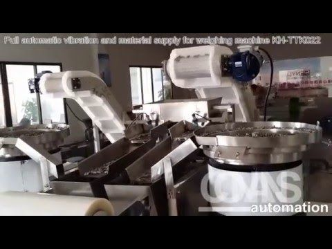 Full automatic vibration and material supply for weighing packing machin...