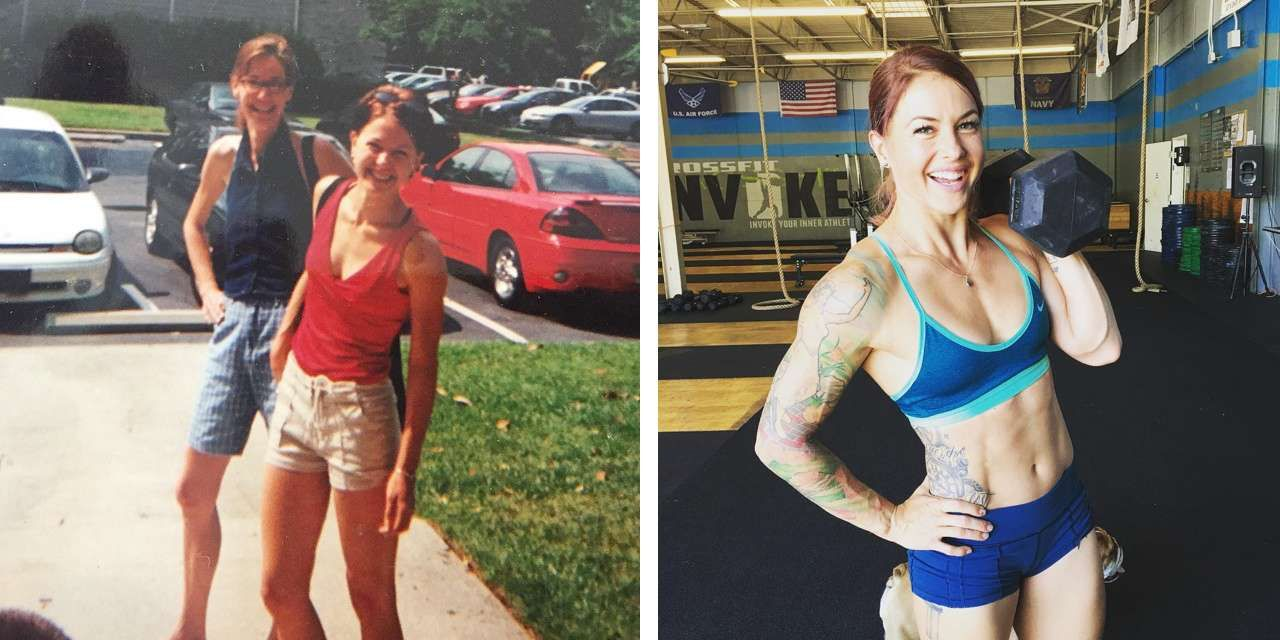 Christmas Abbott Before And After Crossfit Body Transformation Crossfit Women Crossfit Body