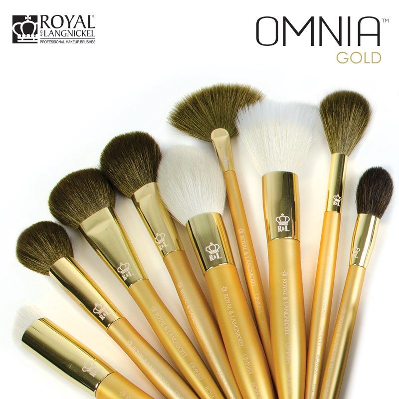 Look No Further For The Best Quality Natural Hair Makeup Brush Omnia Gold Makeup Brushes Were Developed With The Natural Hair Styles Makeup Makeup Brushes