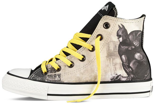 e453f00b34d7 DC Comics Batman  Arkham City x Converse Chuck Taylor All Star ...