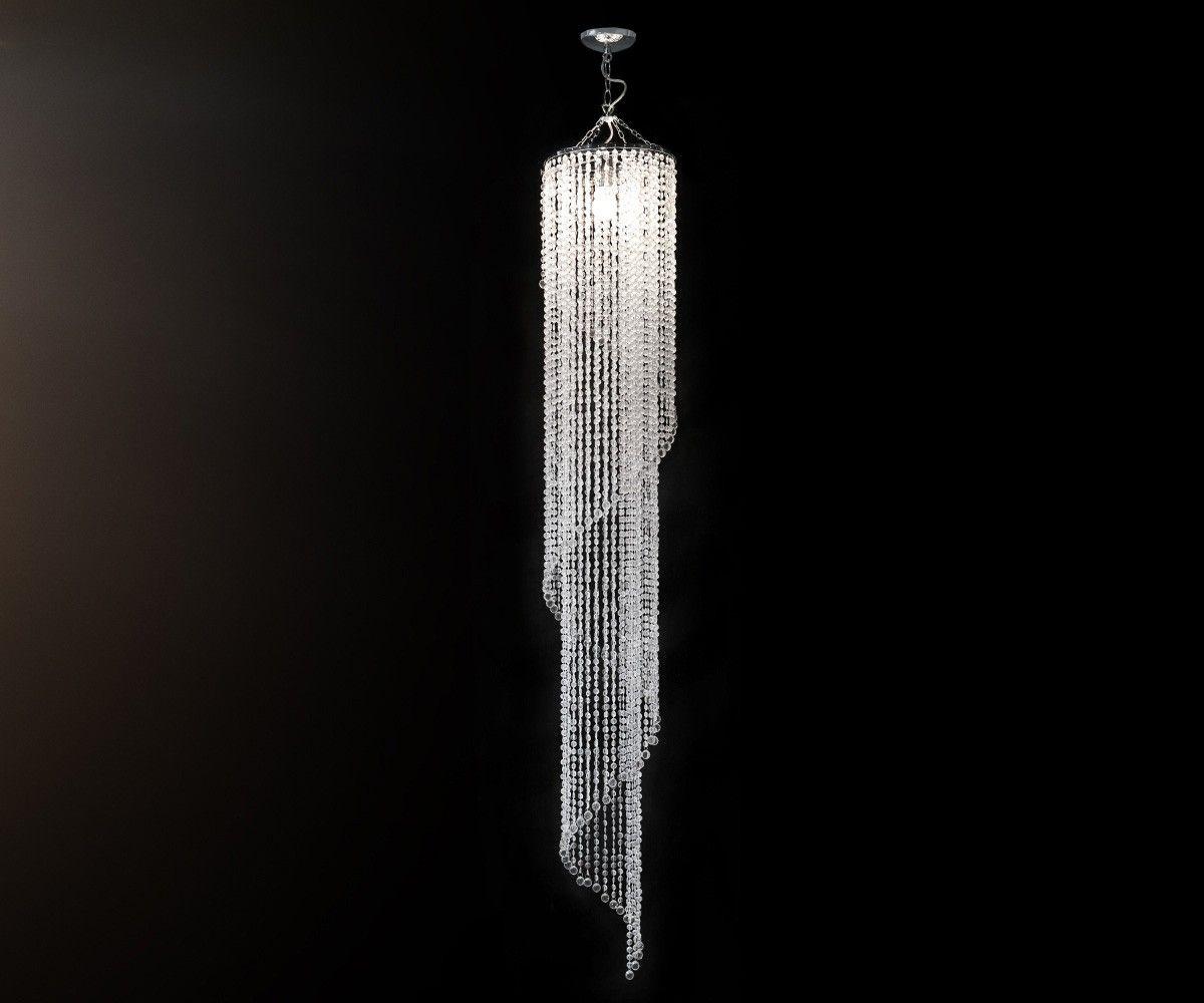 Hangeleuchte Big Strass 30x210 Cm Transparent Hangeleuchte Acrylglas Hange Lampe