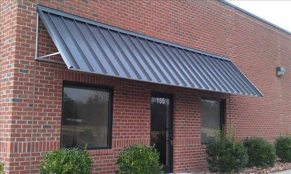 Standing Seam Awnings   Raleigh Awning Company   Standing seam