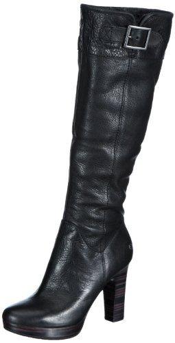 mujer mujer de negro W Savoie UGG cuero Antideslizantes Botas Zapatos de color T5OxAqq