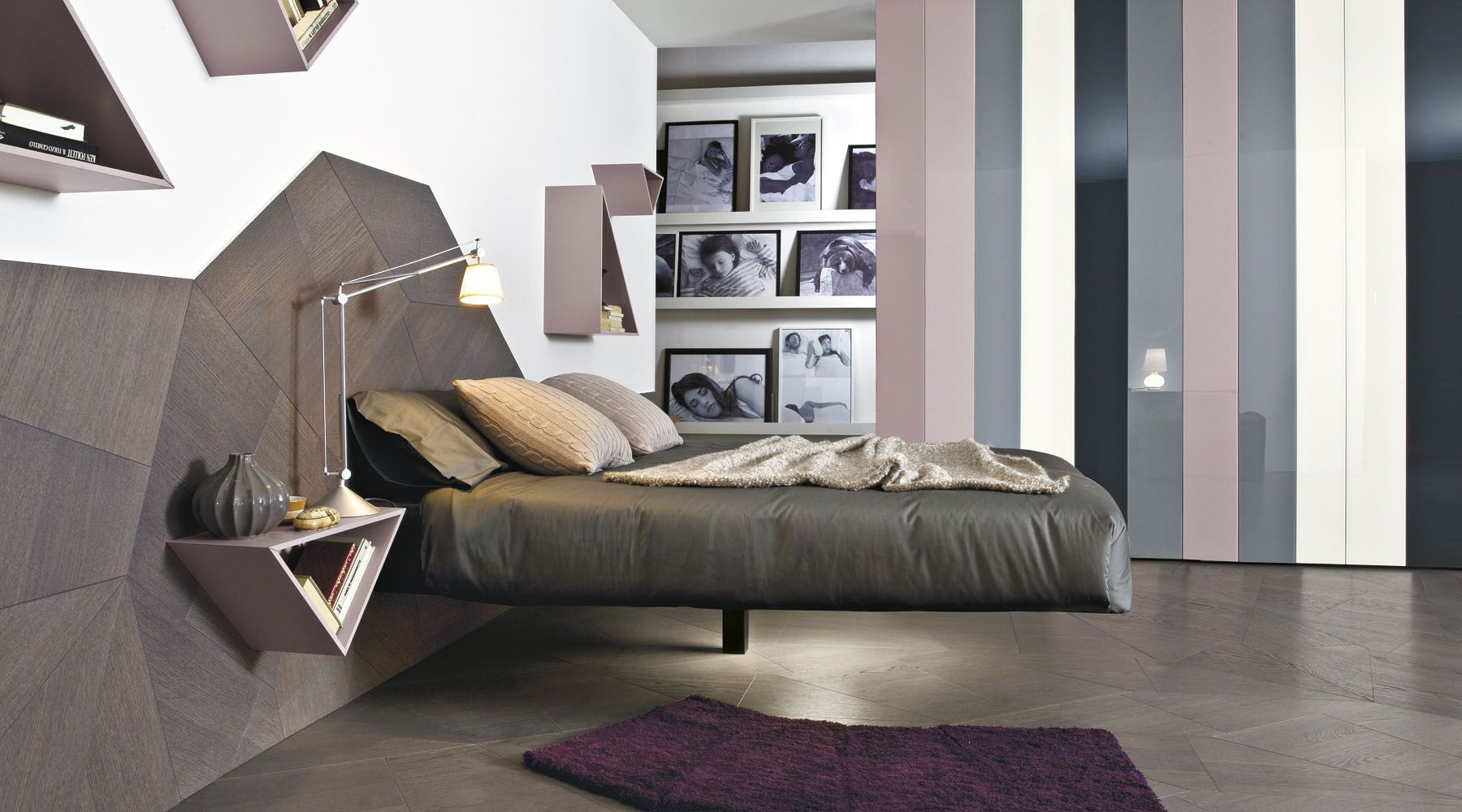 Letto Fluttua | Bed design, Bedrooms and Suspended bed