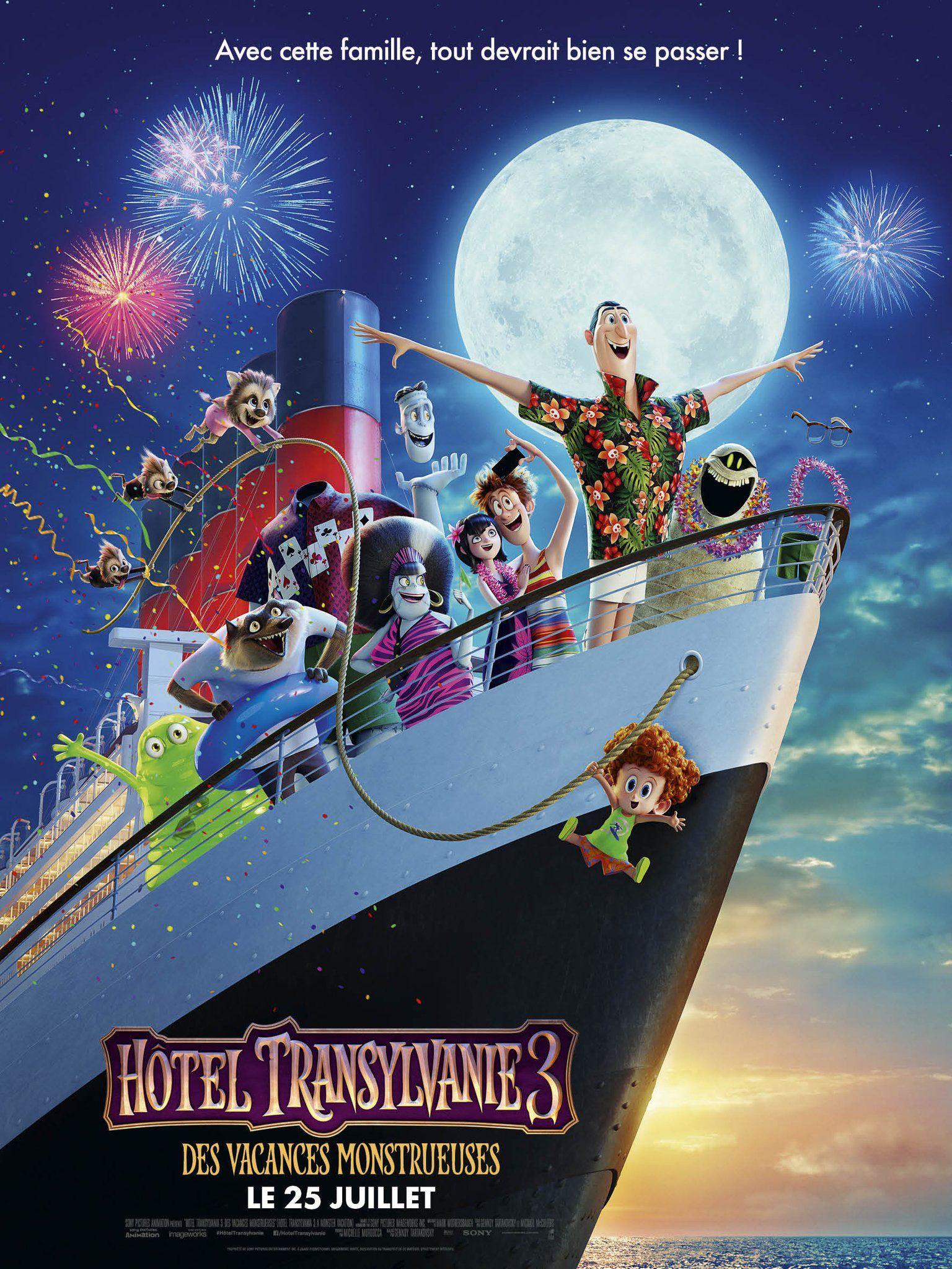 Hotel Transylvania 3 Summer Vacation Film, Oteller