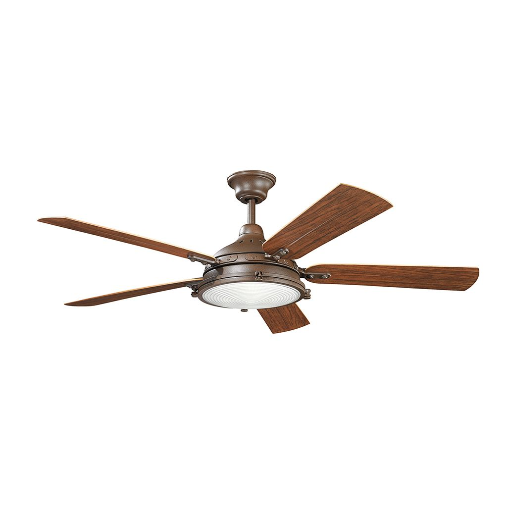 "High Speed Outdoor Ceiling Fans: On Display In Wilcorp Showroom The Features 56"" Diameter 5"