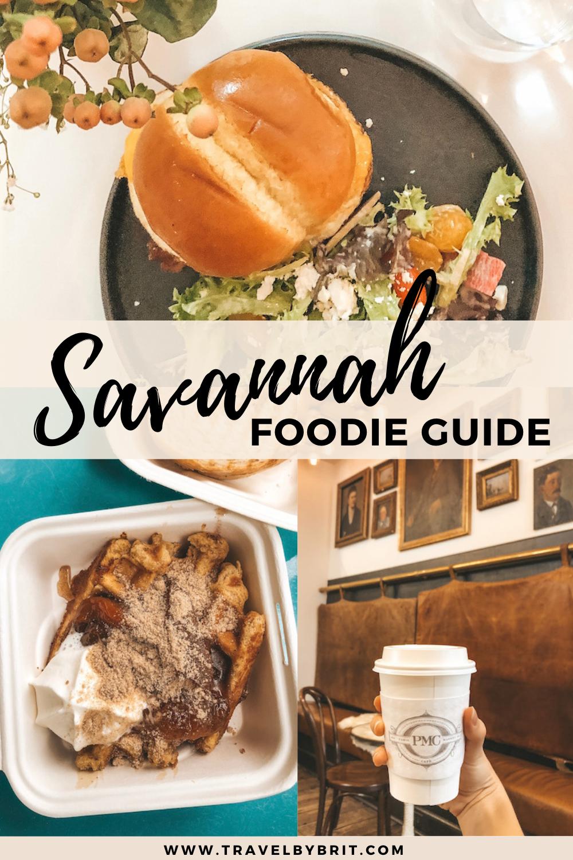 Where To Eat In Savannah Ga Travel By Brit In 2021 Foodie Spots Savannah Chat Travel Food