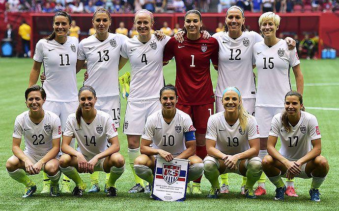 La selección femenina de Estados Unidos seguirá con los preparativos para  Río 2016 d19bda9d4e9fc