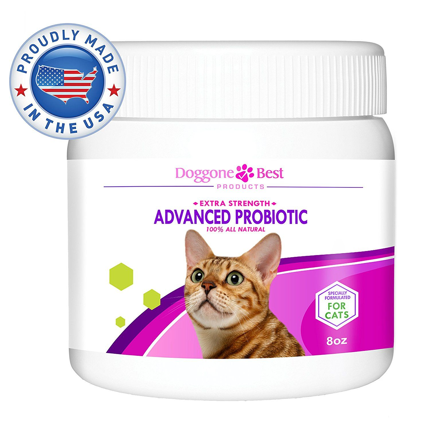 Doggone Best Products Probiotics for Cats with Diarrhea