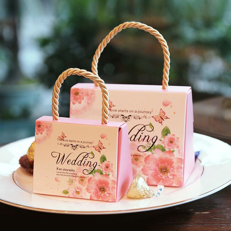 High Quality Wedding Favour Casamento Favor Sweet Cake Gift Candy