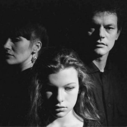 Milla Jovovich Young with your parents