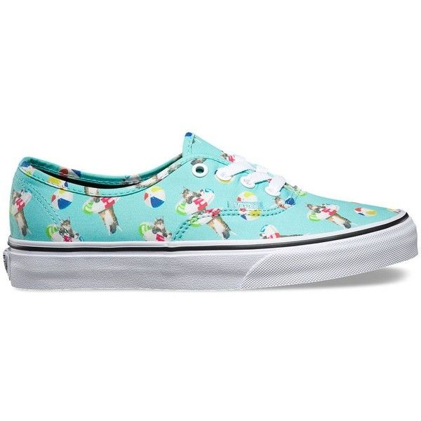 Vans Pool Vibes Authentic (2,760 DOP) ❤ liked on Polyvore featuring shoes, sneakers, green, vans shoes, green shoes, vans sneakers, vans trainers and green sneakers