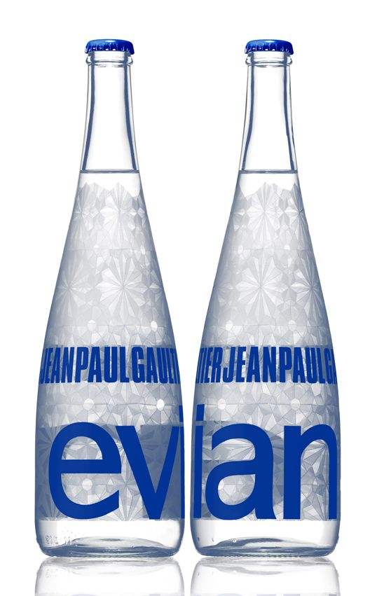 6b44f9464d Jean Paul Gaultier for #Evian #Water | fabulousness is taught ...
