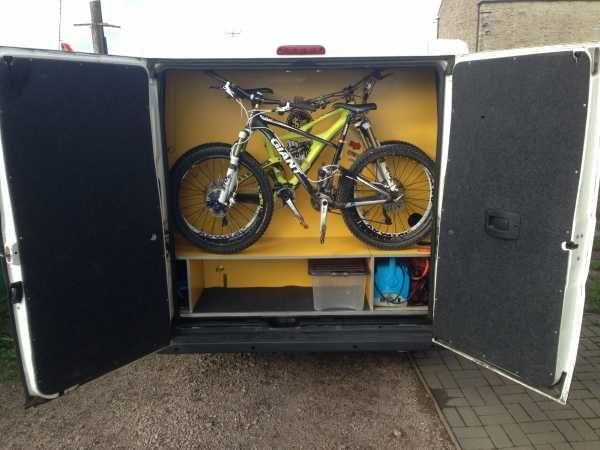 Gallery Bicycle Friendly Campervans Transportation Van