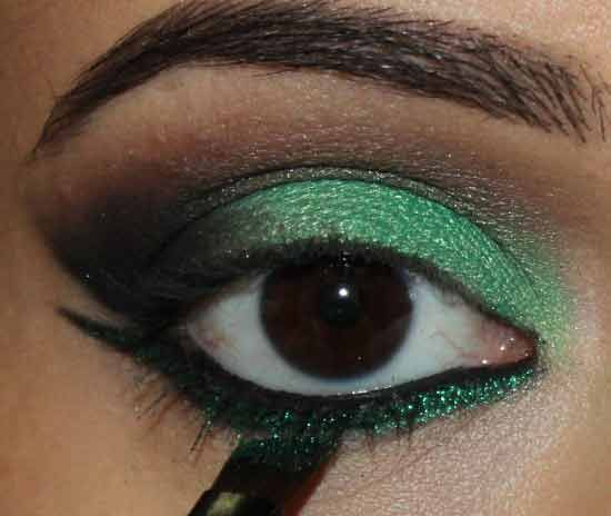 verde marrón -carnaval-