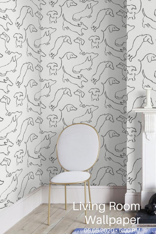 25 Modern Living Room Wallpaper Design Ideas In 2020 Room Wallpaper Wallpaper Living Room White Wallpaper