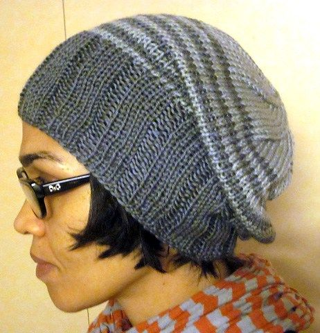 Slouchy Hat Knitting Patterns Slouch Hats Knitting Patterns And Yarns