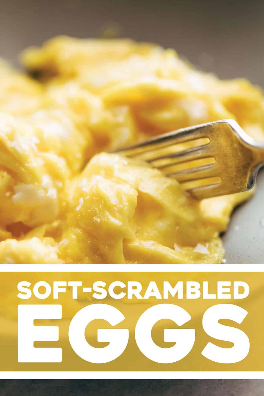 Life Changing Soft Scrambled Eggs Pinch Of Yum Recipe Breakfast Brunch Recipes Scrambled Eggs Recipes