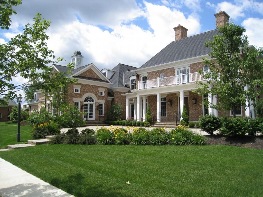 Beautiful landscaped yards picture new albany garden
