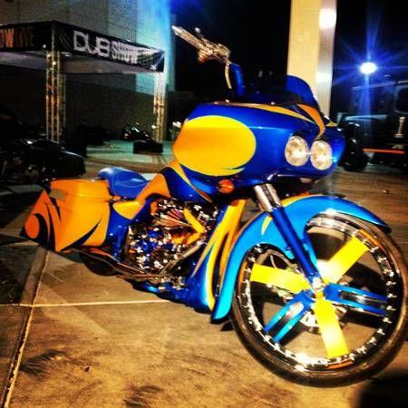 Harley Davidson Street Glide All Custom Custom Baggers Bagger Bagger Motorcycle