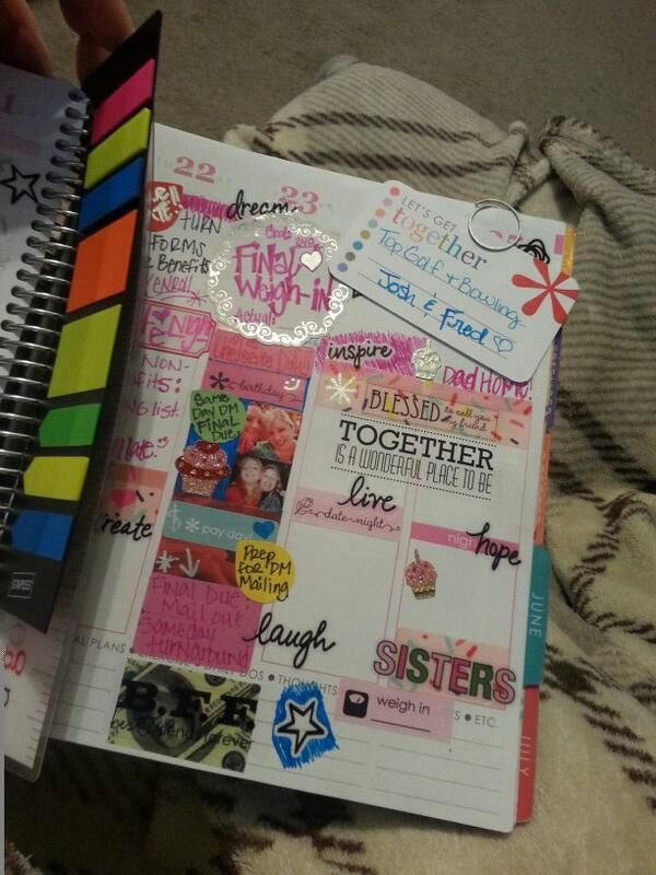 Great use of washi! #eclifeplanner14
