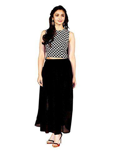 ea6c7cde5 Shivalika Tex Women's Western Wear Party Wear Skater Dress | Party ...