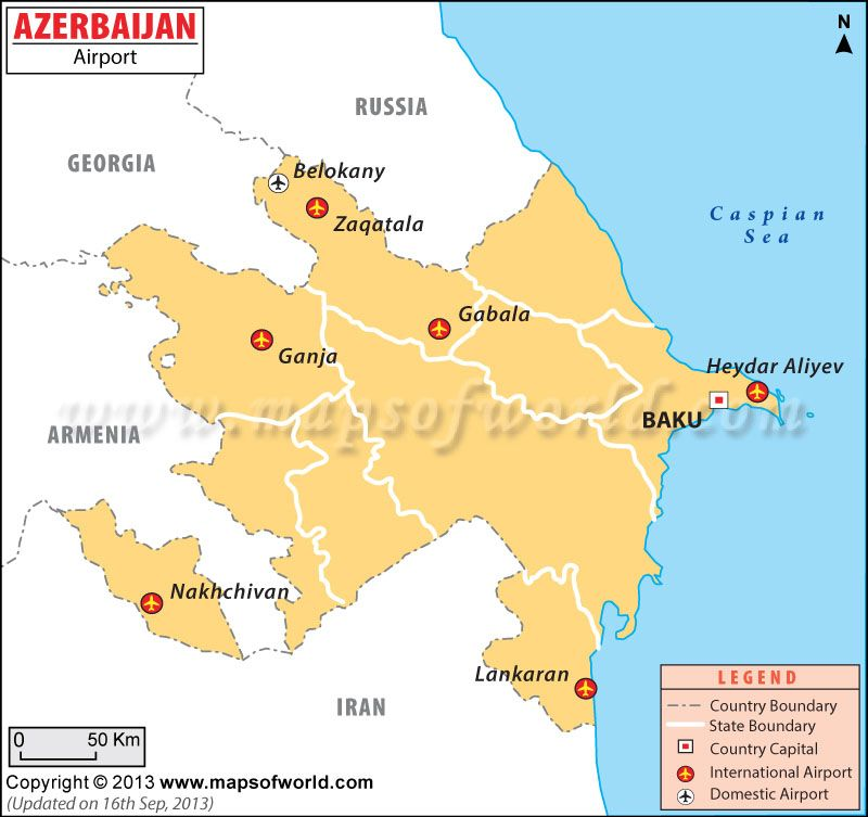 Map of airports in azerbaijan maps pinterest international airport azerbaijan airports map showing location of all the major domestic and international airports in different rayons of azerbaijan publicscrutiny Gallery