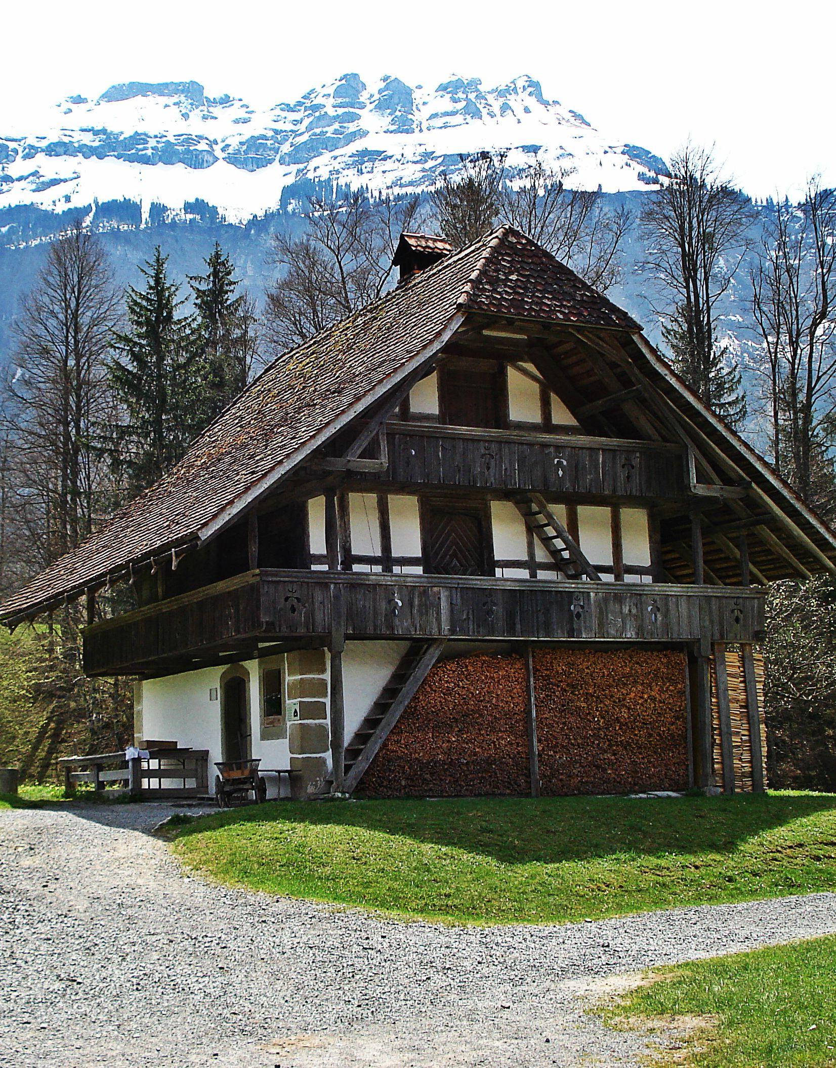 Ballenberg is an open air museum in Switzerland that