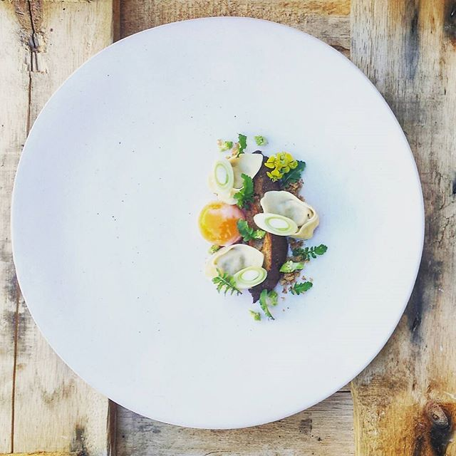 Wild mushroom tortellini smoked poached egg yolk herb bruschetta parmasan crumble. #GastroArt #ChefsOfInstagram #TheArtOfPlating #FoodArt #expertfoods #chef  #gourmetartistry #thestaffcanteen #foodknockout #wildchefs #cheflife #chefsroll #InstaEatsCapeTown #foodcapetown #foodie #instafood #dontshootthechef #instahub #finedining #foodgram #foodporn #feedfeed #nomnom #culinaryart #foodspotting #foodpicks #truecooks #gastronomia #mushrooms by chef_jaco_sa