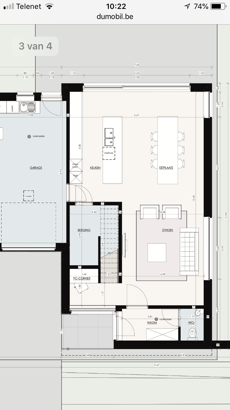 Pc Corner Bij Living Haus Grundriss Wohnungsgrundrisse Haus Design Plane