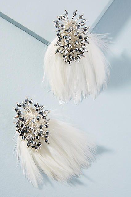 Mignonne Gavigan Petite Delaney Feather Drop Earrings pwwn6N