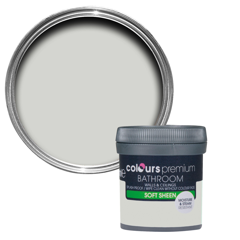 B q bathroom scales - Colours Storm Grey Matt Masonry Paint 0 05l Tester Pot