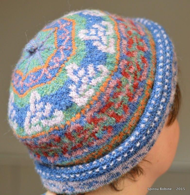 Mon bonnet double en fair-isle   Knitting - My works   Pinterest ...