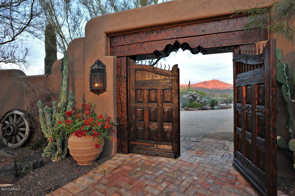 Fachadas de puertas portones y entradas casas casas - Entradas rusticas ...