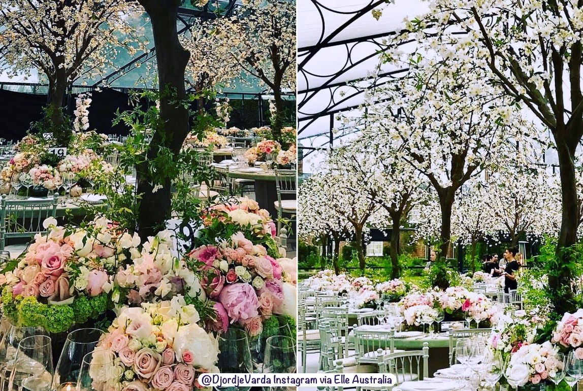 The Cherry Blossom Fairytale floral arrangement of Pippa ... - photo#17