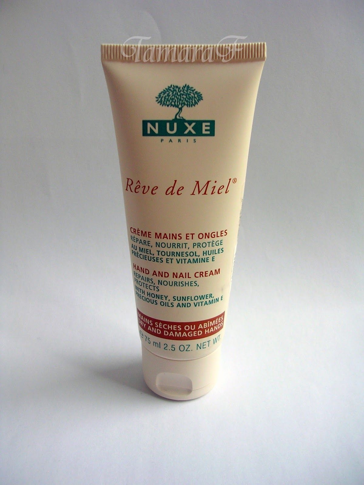 Nuxe Reve de Miel Hand and Nail Cream   Skin Care-ING :)   Cream ...