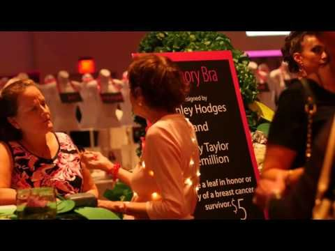BUST Breast Cancer in cludes a bra art fashion show, chef's show case and silent…